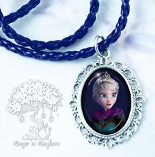 Queen Elsa Necklace - Handmade Jewelry - Disney Frozen Ice Window Snow