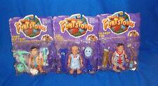 The Flintstones Movie Figure Lot of 3 All Moc
