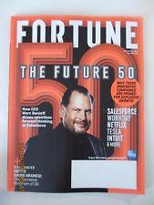 Fortune magazine - November 1st, 2017 - Green or Orange cover