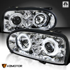 For 1993-1998 VW Golf Mk3 LED Projector Headlights+Fog Lamps Replacement Pair