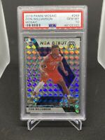 2019-20 Panini Mosaic Prizm NBA Debut #269 Zion Williamson RC Rookie PSA 10