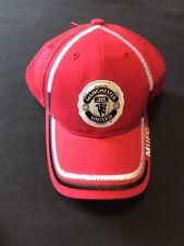 """Brand New"" OFFICIAL Manchester United FC TEAM LOGO Black CAP HAT Soccer"