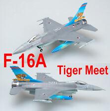 "Easy Model 1/72 Czech F-16A J-004 Ntaf ""Tiger Meet"" Plastic Fighter Model #37126"