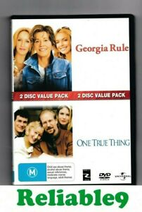 Georgia Rule+One true thing 2DVD+Special features Reg4- 2009 Universal Australia