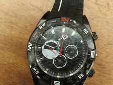 a vintage gents stainless steel cased kronen and sohne chrono style watch