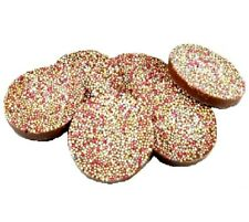 GIANT CHOC DISCS 100G 1KG monster dogs training treats reward bp chocolate drops
