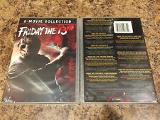 FRIDAY THE 13TH 8-MOVIE COLLECTION DVD SET BRAND NEW SEALED FREE SHIPPING 8-DISC