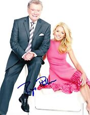 Regis Philbin Signed 8X10 Photo Authentic Autograph Tv Host Legend Coa