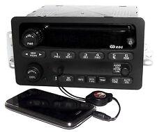 Chevy GMC S10 Truck & Van 2001-2003 Radio AM FM CD w Aux Input 15091316 RDS UN0