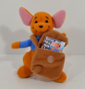 "RARE 2005 Roo 4"" McDonald's EUROPE Plush Figure Disney Winnie The Pooh"