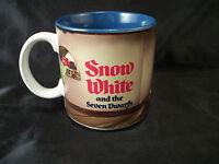 Mug cup Disney's Snow White w/ Seven Dwarfs ceramic milk hot chocolate coffee