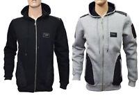 Mens Designer Long Sleeve Casual Tops Shirts Zip Up  Hooded T-Shirt Hoddies
