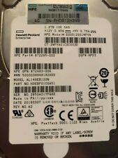 HPE 1.2TB 6G SAS 10K SFF 2.5in DP SC HDD hot-plug