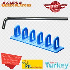 Paintless Dent Repair PDR Dent Puller Tab (6 Headed Puller Tab + Steel Bar)