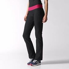 Adidas Womens Size S Ultimate Climalite TRAINING PANTS - Black - BNWT - M68691