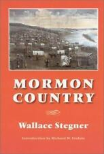 Mormon Country (Second Edition), Stegner, Wallace, Good Condition, Book