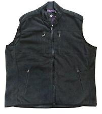 800$ Ralph Lauren Purple Label Black Vest Size XXL Made in Italy