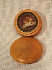 Ancien Petit Reliquaire Agnus Dei en Buis N°2