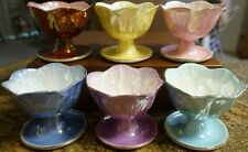 Maling Ware Dessert Comports - Six Pieces