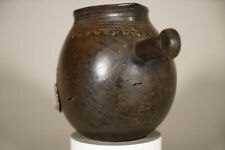 Old African Vessel with Handle 6"