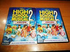 HIGH SCHOOL MUSICAL 2 DVD DISNEY ESPAÑA ZAC EFRON VANESSA ANNE HUDGENS
