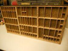 Printers Letterpress Type Traydrawer Shadow Box California Job Casevintage132