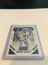 2015 Panini Score Football Marcus Mariota Tennessee Titans rookie card #368