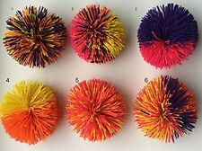 Koosh - Set of 6 Koosh Balls - Originals with Hang Tangs