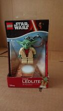 Lego Star Wars Yoda Key Chain / Torch / LED Lite New and Sealed