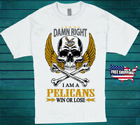 New Orleans Pelicans NBA T-Shirt All Sizes Available Basketball Free Shipping