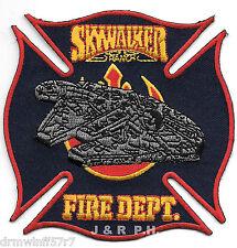 """Skywalker Ranch, CA  Maltese Cross  (3.75"""" x 3.75"""" size)  fire patch"""