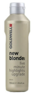 Goldwell NEW BLONDE LOTION 25.4 oz / 750 ml for fast and even distribution
