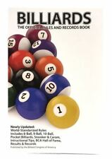 New 2017/2018 BCA Edition - BILLIARDS The Official Rules and Records Book
