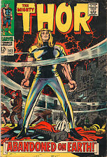 Mighty Thor #145 - Tricked Into Joining The Circus Of Crime - 1967 (Grade 4.5)
