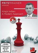 ChessBase: bologan-King 's Indian: a Modern Approach-ajedrez nuevo embalaje original