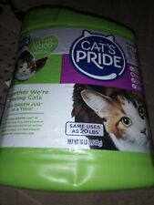 Empty Cats Pride  Fresh & Light Ultimate Care Scented Multi-Cat Litter, 10