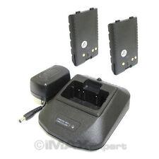 2+1 Battery Charger for YAESU FNB-V57 FNB-83 FT-60R VXA-150 FT-250R FT-270R