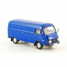 Brekina 13300 1/87 Ho Mercedes L 206D Van Blue 1970 Car Miniature