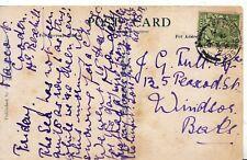 Family History Postcard - Tull - Peascod St - Windsor - Berkshire - Ref 2436A