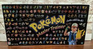 Hasbro Pokemon Master Trainer Game Board 1999 Edition