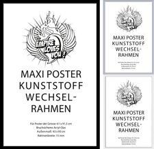 Wechselrahmen Posterrahmen empireposter® Kunststoff 61x91,5 in vielen Farben