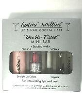 Liptini Lip Nail Coctail set. Nail Polish Lip stick. Great Gifts CHI CHI VODKA