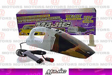 """12V 90W Wet & Dry Auto Vacuum Cleaner 3 Pieces Measures 17""""X5""""X4"""" New Majic"""