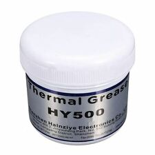 HY500 100g Grey Thermal Conductive Grease Paste For CPU GPU Chipset Cooling Q6F6
