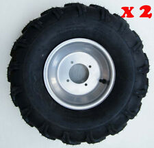 "2* 19x7- 8"" Front Wheel Rim + Tyre Tire 150cc 200 250cc Quad Dirt Bike ATV Buggy"