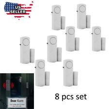 8 Home Safety Burglar Alarm Wireless System Security Device Door Window  Sensor