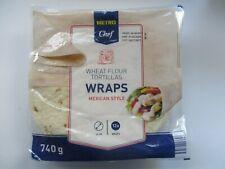 Tortillas Wraps mexican Style 12 Stück 25 cm Durchmesser 740 g