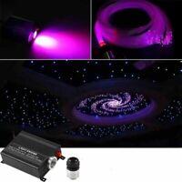 HOT!16W RGBW LED Fiber Optic Star Ceiling Light Kit 300pcs 2M 0.75mm+crystal