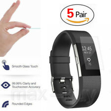 5 pcs Supershieldz HD Clear Full Coverage Screen Protector For Fitbit Charge 2