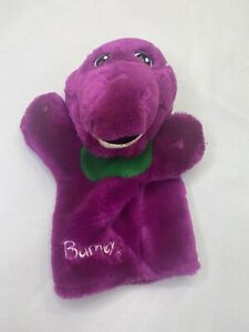 Barney Hand Puppet 1992  the lyons groupVintage